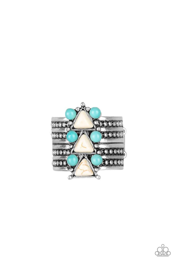 Jazzi Jewelz Boutique-Point Me to Phoenix-Turquoise and Silver Ring