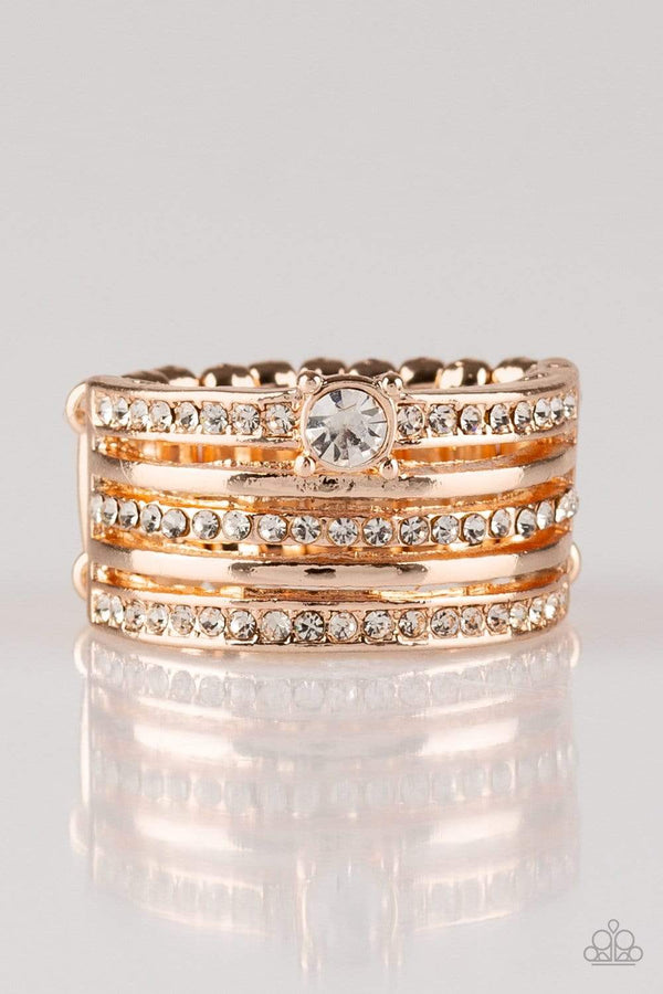 Jazzi Jewelz Boutique-The Dealmaker-Rose Gold Ring
