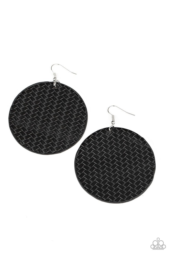 Paparazzi Accessories Jewelry WEAVE Your Mark - Black