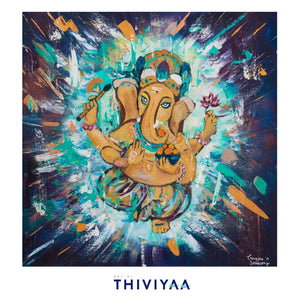 'Energy from Within' - Ganesha - Art Print
