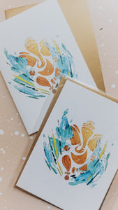Ganesha Greeting Card 'The Pure One' | Perfect for Hindu Weddings, Gifts & more