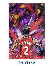 Load image into Gallery viewer, 'North On Your Back' - Kawhi Leonard Raptors - Limited Edition