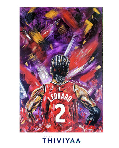 'North On Your Back' - Kawhi Leonard Raptors - Limited Edition