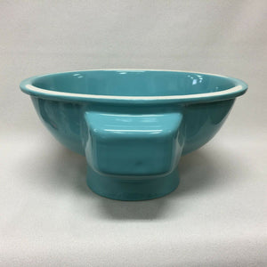 BS-546 NOS Robin's Egg Blue Early 70's Ceramic Sink 19 1/4 x 16 Undermount