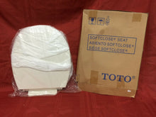 Load image into Gallery viewer, TS-68 NOS TOTO Toilet Seat w LId White Round Soft Close Seat