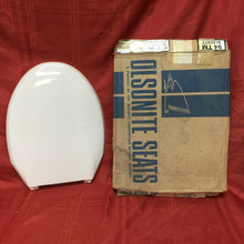 Load image into Gallery viewer, TS-39N NOS Olsonite Toilet Seat w Ld Innocent Blush Regular Bowl Top Mount Hinge