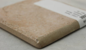 "MMT-148B Vintage 3 3/4"" Ceramic 1 pc Wall Tile Rust Brown Sand Stone Bullnose"