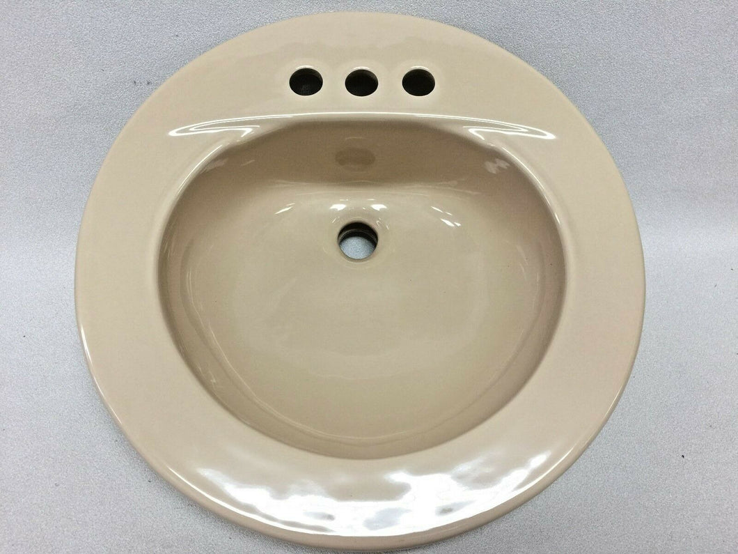 BS-505 Reclaimed American Standard SHELL Ceramic Bathroom Sink 19