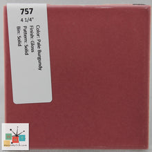 "Load image into Gallery viewer, MMT-757B Vintage 4 1/4"" Ceramic 1 pc Tile Pale Burgundy Pink Glossy Bullnose"
