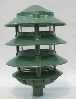 (I-744) Vintage NOS Outside Vapor - Explosion Proof Light Deco Light Retro Green