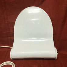 Load image into Gallery viewer, TS-75 Vintage Geberit Geberella Toilet Seat w LId White Round Bown Spray Seat