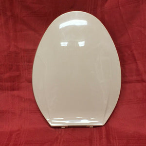 TS-40N NOS Olsonite Toilet Seat w Lid M Sand #94N Oblong Bowl Top Mount Hinge