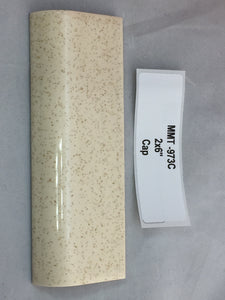 "MMT-973C Vintage 2x6"" Ceramic Tile AO #46 Buckwheat Brown Speckled Glossy Mudcap"