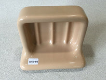 Load image into Gallery viewer, BA-1381 Vintage Ceramic Bathroom Tan Soap Dish AI