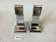 Load image into Gallery viewer, BA-505 Mid Century Modern Donner Metal Bathroom Chrome Toilet Paper Holder Set