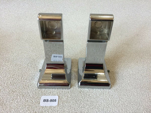 BA-505 Mid Century Modern Donner Metal Bathroom Chrome Toilet Paper Holder Set