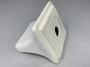 SD-1 Vintage Ceramic Gloss White Bathroom Wall Soap Dish