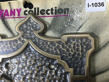 Load image into Gallery viewer, (I-1036) 1 NOS Vtg MCM Unique Light Switch Plate Double Toggle Decorative Cover