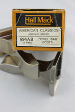 Load image into Gallery viewer, TB-1977 Hall Mack Towel Bar Antique Brass Vintage