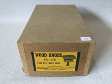 Load image into Gallery viewer, (H-07) MCM Waddell Wood Drawer Square Knobs Unfinished Set Of 12 in Original Box