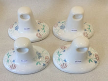 Load image into Gallery viewer, BA-1178 Vintage Ceramic White Floral Bathroom Wall Mount Set