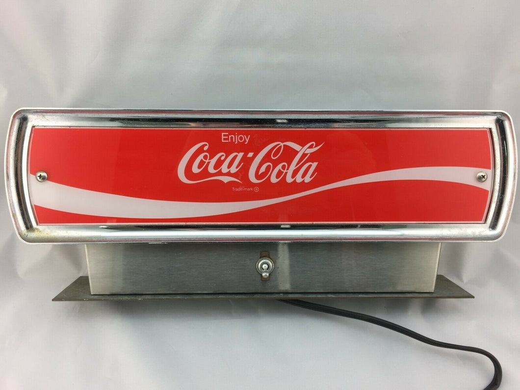 N-122 1950s Metal Coke Fountain Top with Light Up Feature