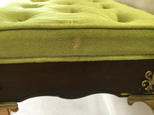 Load image into Gallery viewer, I-1686 Cast Brass Stool Bench Hollywood Regency Italy Stiletto Mid Century Mod