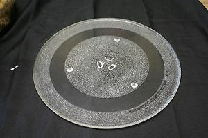 "(I-143) Replacement Part Microwave Oven Glass Tray Plate Y43 14 1/8"" Turntable"