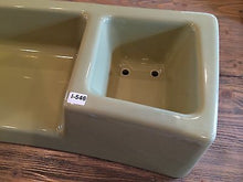 Load image into Gallery viewer, (I-546) 1964 Eljer Estate Toilet Avacado Green Vitreous China Planter Lid