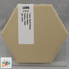 "Load image into Gallery viewer, MMT-1096V Vintage 2x6"" Ceramic 1 pc Wall Tile Reed Yellow Tan Matte Cove"