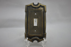 "LP-1859AI 3"" Brass Gothic Brass Vintage Switch Electrical Cover"