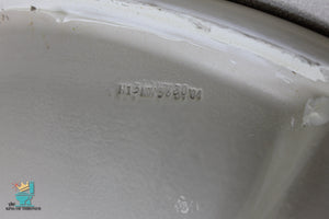 S-1644 Vintage Ceramic Almond Tan SA Sink Oval Drop In Gloss