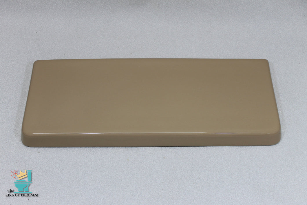 TL-1690AI Vintage Ceramic Curry Brown Toilet Tank Lid Gloss