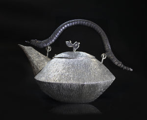Snake Handle Tea Pot