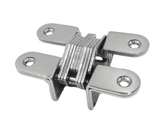 Marine City Boat 304 Stainless Steel Hidden Hinges-4 Point Fixing (A Pair) Small