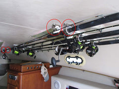 Fishing Accessories - Fishing Rod Storage Rack