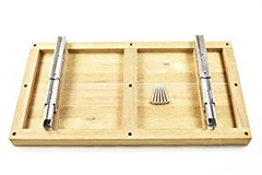 Well Mount Fold Down Bench/Seat with Slats for Boat, Shower Room, Steam, Sauna Room - marinecityhardware.com