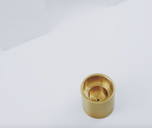 Load image into Gallery viewer, Brass Candle Holder