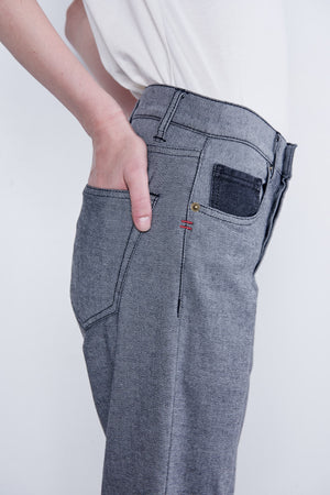 Pantalon Reverso Black Denim
