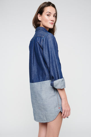 Robe Miss Blue Denim Reverso