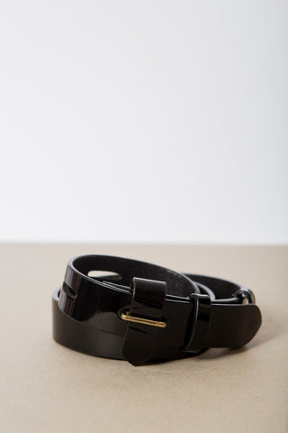 Ceinture Lock Shiny Black