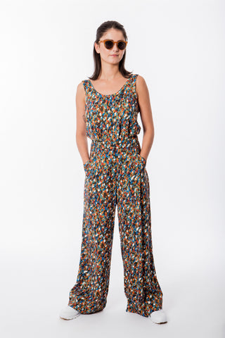 Pantalon Aquarius Leopard