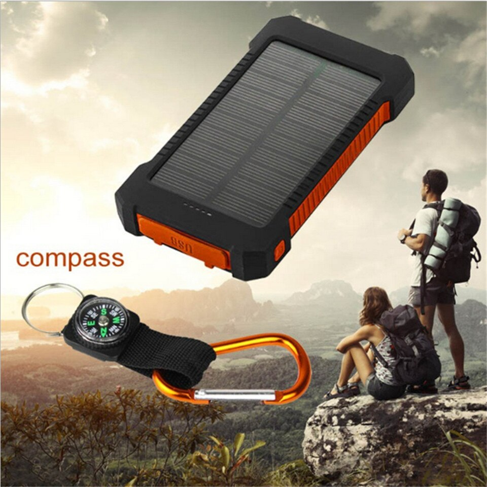 Solar Power Cell Phone Charger | Water Proof | USB Connect