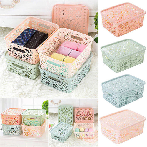Hot Sale Thick Plastic Storage Basket Box Bin