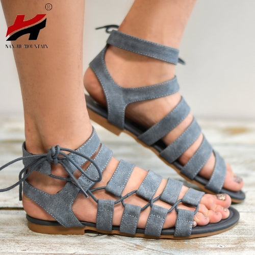 New Summer Women's Shoes | Flat Shoes Comfortable Roman Sandals