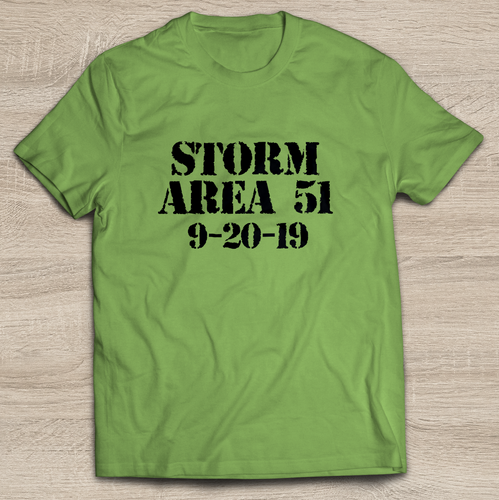 Storm Area 51 T-Shirt | Army Tank Top