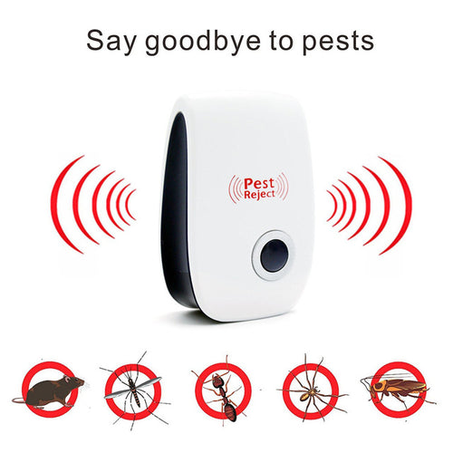 Ultrasonic Pest Reject: Keeps the Bugs away while you Sleep!