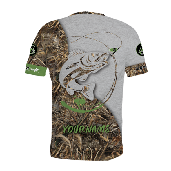NEW FOR 2021! Alumacraft Personalized Short Sleeve Jersey Style 10