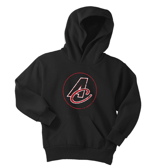Youth A/C Distressed Logo Hoodie