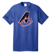 Mens Distressed A/C Logo Heathered Tee